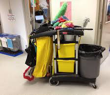 managing housekeeping cart