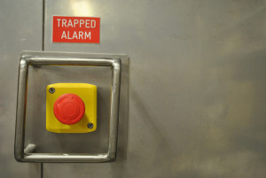 freezer trapped alarm