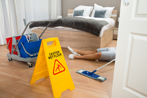 California osha housekeeping injury prevention